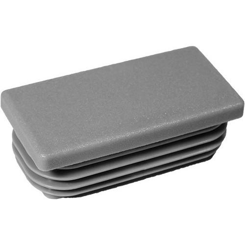 10 Stck bouchon pour tube rectangulaire 70x50 gris plastique Embout bouchons dobturation