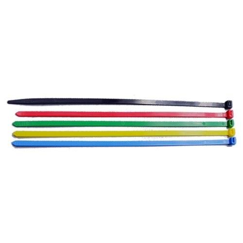 Liens - Largeur 2.5 Longueur 100 mm - PA Jaune