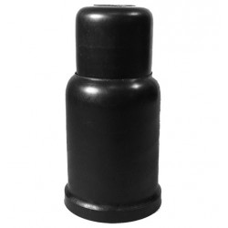 Bolt/nut caps M 18 SW 27 mm Ht. 86 mm C. 34 mm Telescopic PE Black