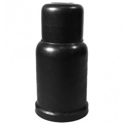 Bolt/nut caps M 18 SW 27 mm Ht. 86 mm C. 34 mm Telescopic PE Black
