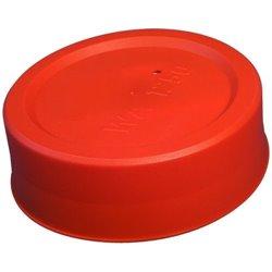 Caps pour tubes PVC Diam ext. 110 Ht. 30,0 mm - PE rouge