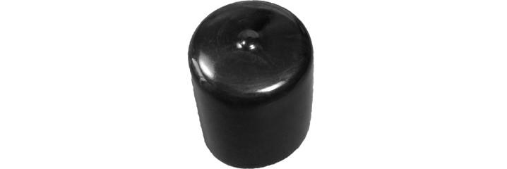 Embout recouvrant rond PVC souple – Hauteur adaptable