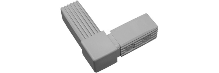 Multi-way square and round tube connectors