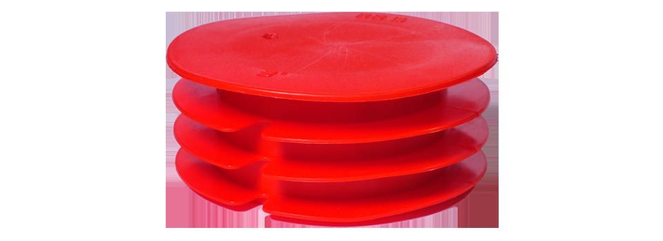 Caps rentrant à ailettes – Protection tube avec dimensions normalisées