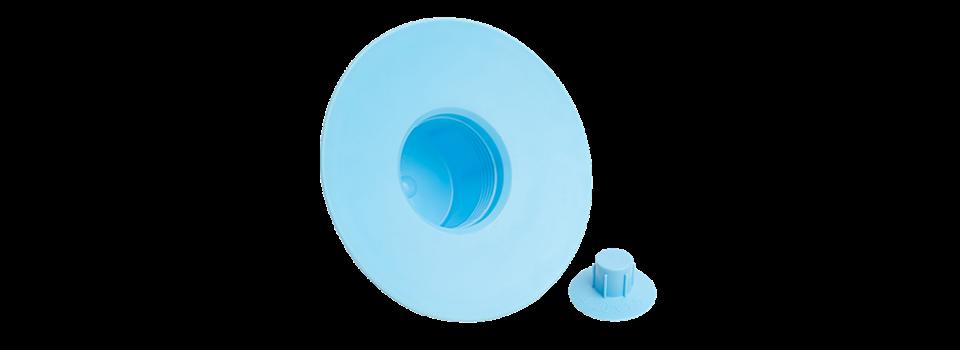 Cache de protection fileté pour remplacement de filtre à huile