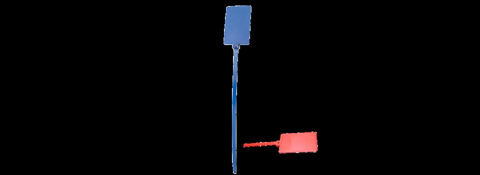 Lien à platine étiquette d'identification | Bouchon Plastique