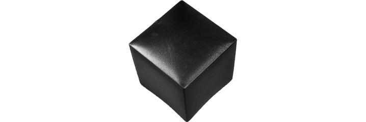 Embout recouvrant forme carré PE – Hauteur standard