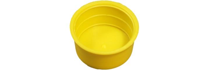 Bouchon conique jaune – Protection intérieure et extérieure