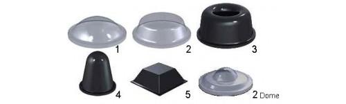 Self adhesive bumper pads