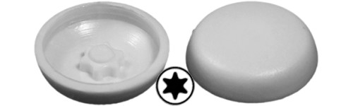 Screw caps Torx domed