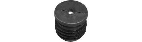 Round tube insert - Metal thread RO_M