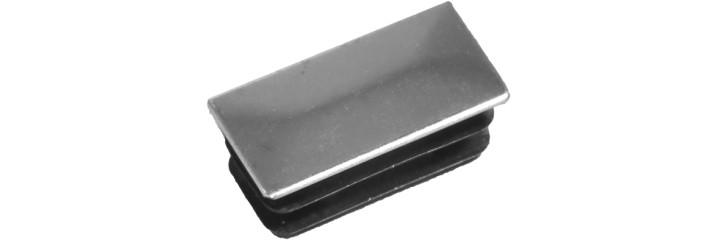 Chromium surface rectangular tube insert