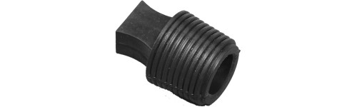 Flangeless heat resistance TPE tapered plugs - 246°C