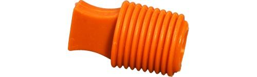 Bouchon conique à languette silicone – 316°C