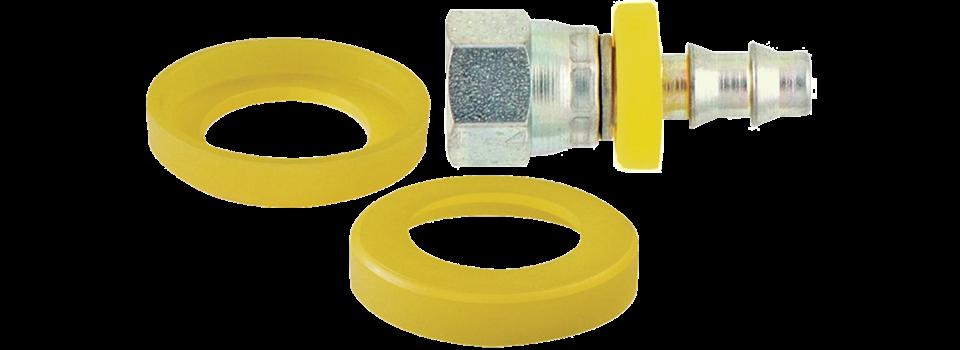 Capuchon percé - Protection tube et tuyau - Protection pour les tuyaux auto-serreur
