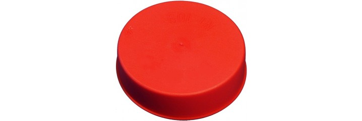 Bouchon conique rouge – Protection intérieure et extérieure