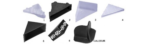 Protège coin en plastique