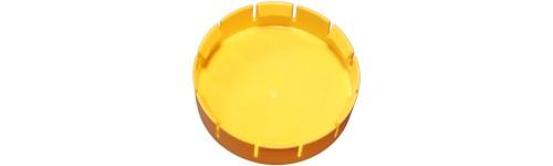 Outside fitting flange clip cover - DIN standard