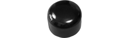Round PVC and PE caps - Standard length PVC_S PVE