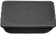 Rectangular tube insert