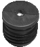 Round tube insert - Metal thread