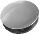 Chromium surface round tube insert