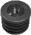 Round tube insert - Plastic injected thread